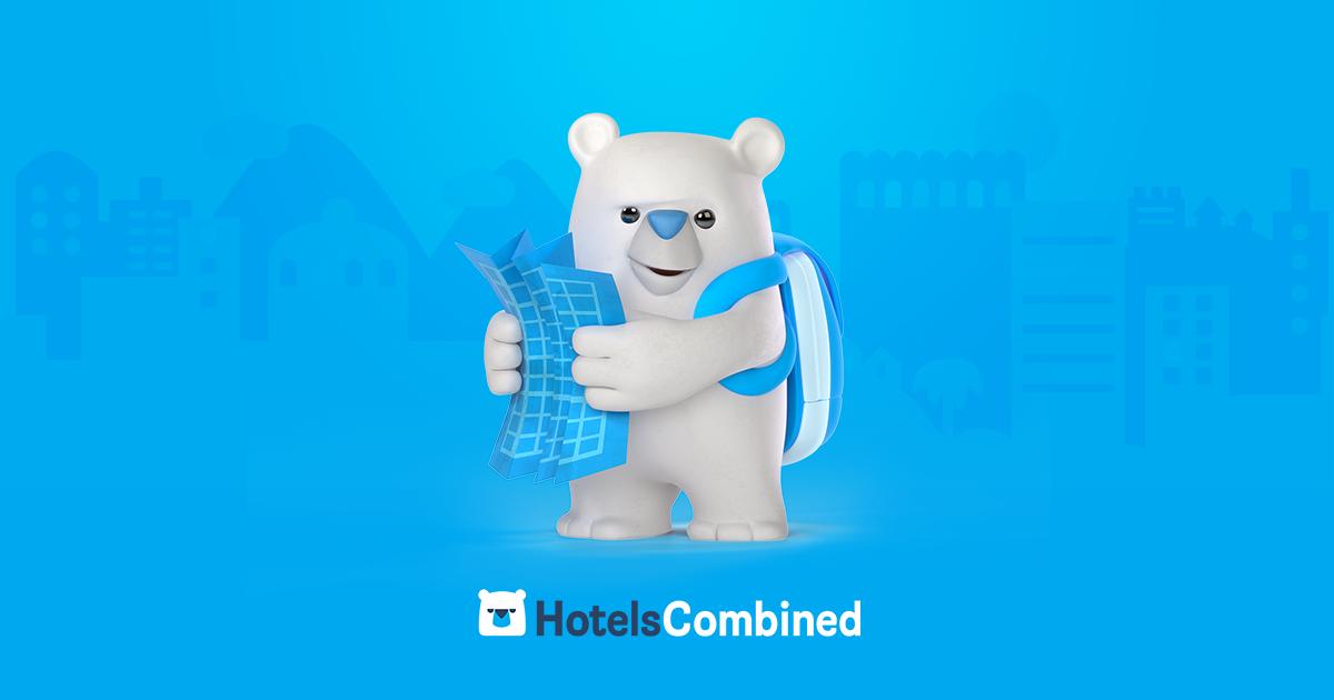 """Hasonlítsa össze a legnépszerűbb utazási webhelyek ajánlatait egyetlen kereséssel, és találja meg a legjobb hotelajánlatot a """"Világ legjobb hotelár-összehasonlító webhelye"""" díjjal jutalmazott HotelsCombined.com-on."""